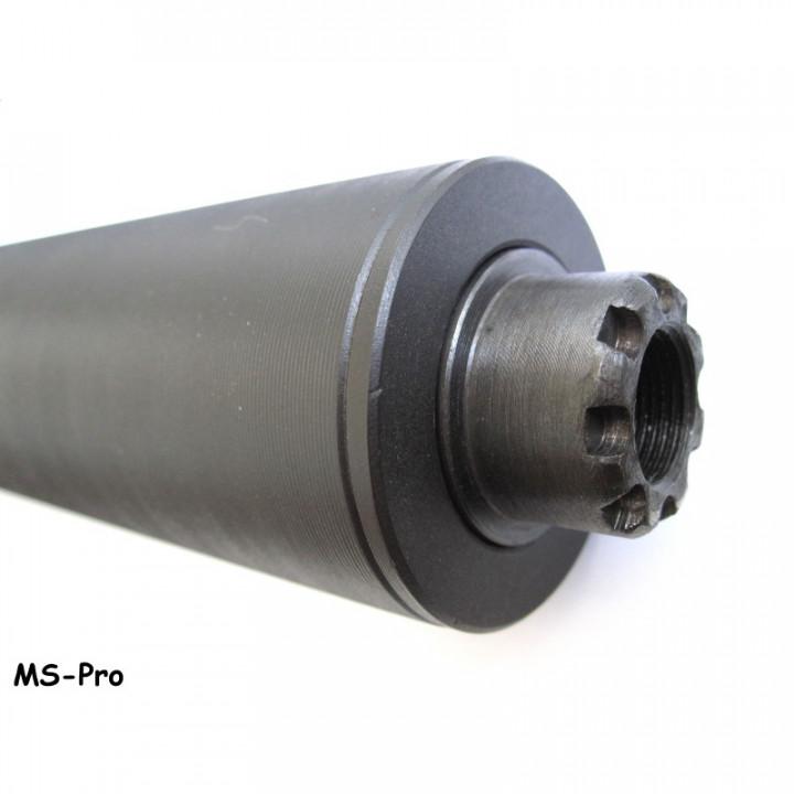 Глушитель AWS Pro - резьбовая посадка, АКМ-7.62, АК74-5.45, AR-15, СВД, AR-10, .308