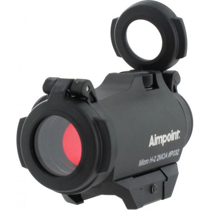 Прицел коллиматорный Aimpoint Micro H-2 2МОА на планку Weaver/Picatinny