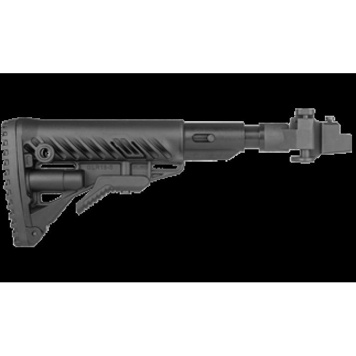 Телескопический  складной приклад  АКС-74, АКСУ-74  Fab Defence M4-AKSSB
