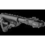 Телескопический складной приклад для АКМС  Fab Defence M4-AKMS P