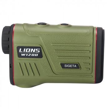 Лазерный дальномер SIGETA LIONS W1200A