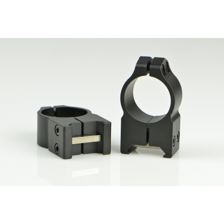 Кольца Warne MAXIMA Fixed Rings 30 мм  низкие для крепления высокие