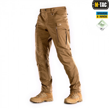 БРЮКИ M-TAC CONQUISTADOR FLEX COYOTE BROWN