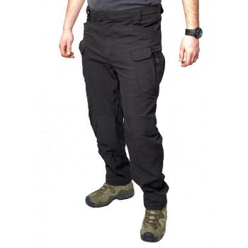 Утеплені штани тактичні Softshell Shark Skin 02. ESDY. Чорні