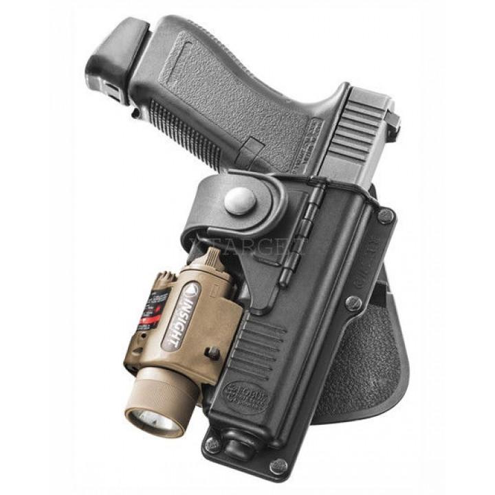 Кобура Fobus для Glock-17/22 подствольным фонарем