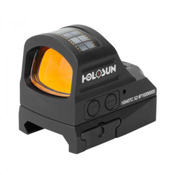 Коллиматор Holosun HS407C X2, компактный.