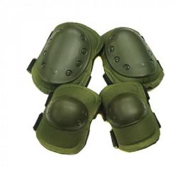 Тактические наколенники и налокотники US Army Olive