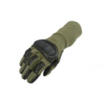 Тактические перчатки Armored Claw Breacher OD Size XL