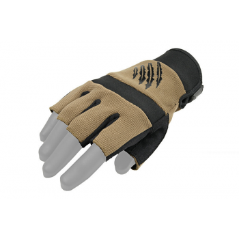 Тактические перчатки Armored Claw Shooter Cut Half TAN Size XL