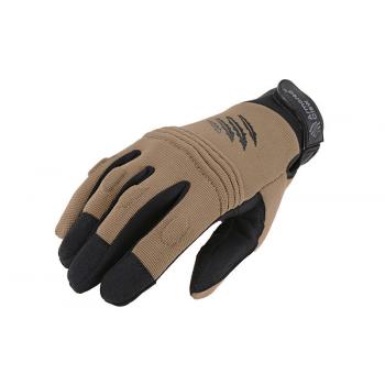 Тактические перчатки Armored Claw CovertPro Half Tan Size M