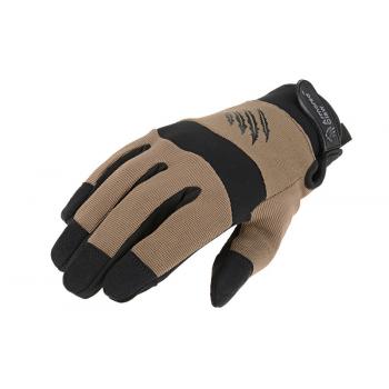 Зимние тактические перчатки Armored Claw Shooter Cold Half Tan Size S