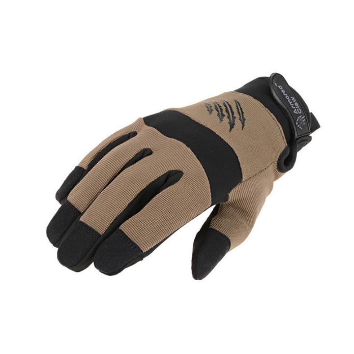 Зимние тактические перчатки Shooter Cold Half Tan Size S