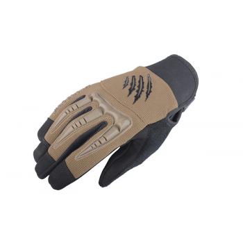 Тактические перчатки Armored Claw BattleFlex Half Tan Size L