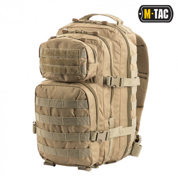 РЮКЗАК M-TAC ASSAULT PACK TAN 20 литров