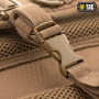 РЮКЗАК M-TAC URBAN LINE CHARGER HEXAGON PACK COYOTE BROWN