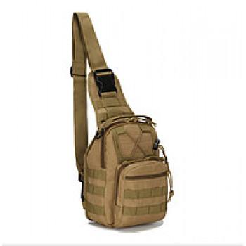 Сумка тактическая плечевая EDC (под пистолет). Койот
