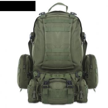 Тактический рюкзак 50 литров с подсумками. Олива