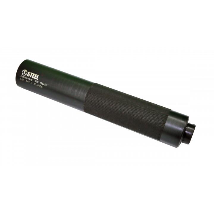 Глушитель Steel 9 мм 15x1  MKE MP5