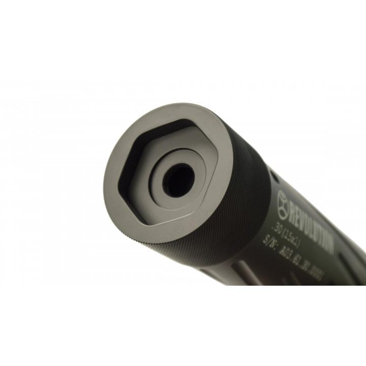 Интегрированный глушитель Steel REVOLUTION 2 .308 .338 .30-06 .223