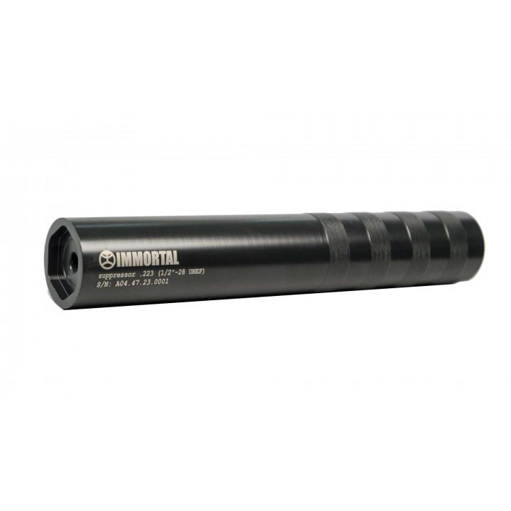 Глушитель IMMORTAL   AR-15 .223 1/2 28 UNEF нержавеющая сталь