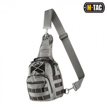 СУМКА M-TAC URBAN LINE CITY PATROL CARABINER BAG GREY