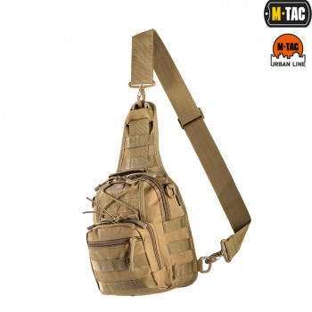 СУМКА M-TAC URBAN LINE CITY PATROL CARABINER BAG COYOTE